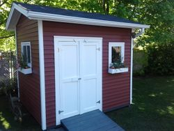 8' x 10' Standard Shed