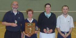Handicap Tournament Vets Winners & Runners Up