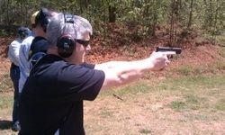 April 14, 2012 Shooting at the range