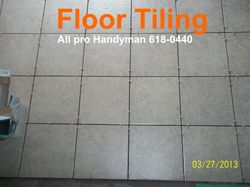 Tiling on concrete