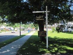 Main St front entrance sign