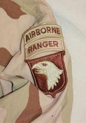101st Airborne Div. 2nd Lt. Desert Camo: