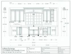 Kitchen Elevation 3