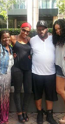 Gia Wyre, Terri j Vaughn, Chris Walker & Demetria McKinney At The Seasons 52!