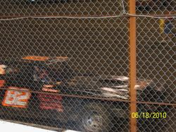 82 car in the SS feature at Macon