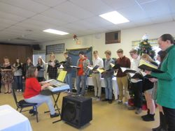 MA Choir makes a January showing this year