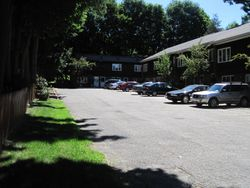 Parking lot for Townehouses
