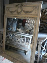 #12/104 French Trumeau Mirror SOLD