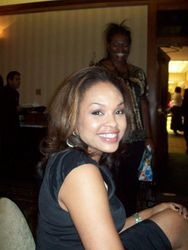 Demetria Mckinney At The Father's Day Celebration