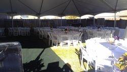 Nothing like a Back yard Wedding