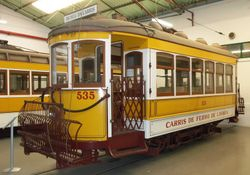 No. 535, which is powered by two Metrovick 45 horsepower motors.