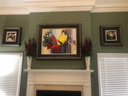 Picture hanging installation in derwood MD