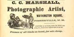 C. C. Marshall, photographer, Fisherville, NH