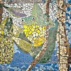 Frog Mosaic (detail)