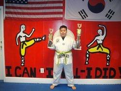 03-11-2012 Championships Vladimir Lee 2nd pl Forms 3 rd pl Fighting