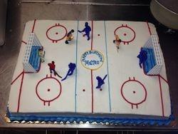 Hockey Arena Cake