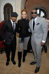 Neyo, Demetria McKinney & Devine Stephens @ The Frank Ski Celebrity Wine Tasting Charity Event