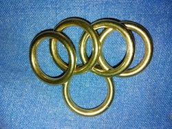 Små mässingsringar/ Small brass rings