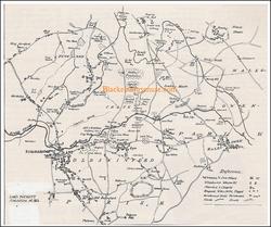 Coal Field Map. 1812.
