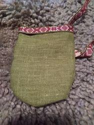 Örtsamlarpåse / Herbal collection pouch