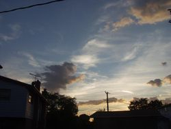 Sky Over Brandon's Backyard