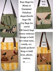 Fabulous Mom's or Gramma's Busy Bags for the little ones