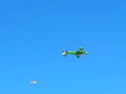 The Extreme Inverted Fly-by