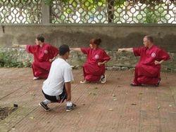 Shaolin Xu Bu stance training