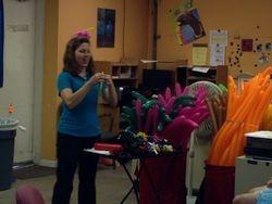 Teaching a Balloon Twisting Workshop