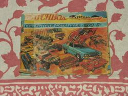matchbox catalogue