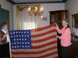 1859 American flag