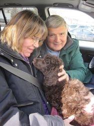 Truffle's new family.