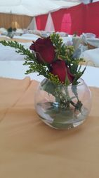 Simple flower centre piece
