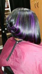 Sew in cut bob with style