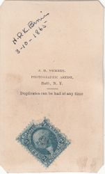 J. D. Vickery of Bath, New York
