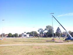 last pole up