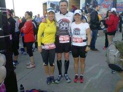 Mississauga marathon runners