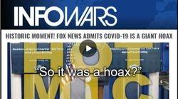 Covid Hoax Devastated, Fox News Confirms Virus Death Rate Lower Than The Flu