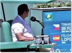 Chair Umpire Ali Nili