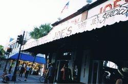 Sloppy Joe's in Key West, Florida, 2001