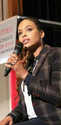 "Demetria McKinney Speaks at ""Tri-Cities High School"" As the Key Note Speaker For TurnUp Day"