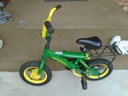 TOMY John Deere Heavy Duty Kids Steel Bicycle - $50