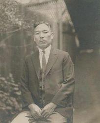 My great grandfather Yamasaki (Umeko's Father)