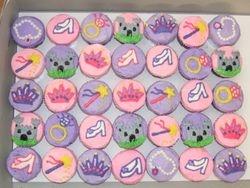 Princess Themed Cupcakes