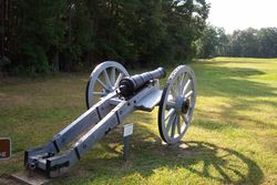 A revolution era cannon