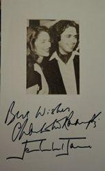 Jean Michel Jarre & Charlotte Rampling