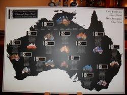 Printed Australian Theme