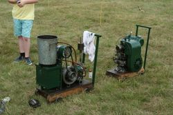 A stationary engine
