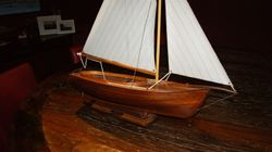 """The Dawn"" couta boat designed by Peter Locke Queenscliff."