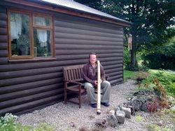Chris with Didgeridoo, Shropshire Star 2009